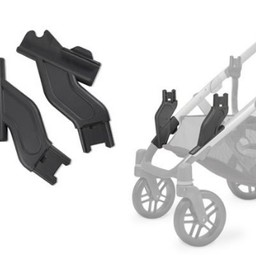 UPPAbaby Uppababy Vista - Adaptateurs Inférieurs en Occupation Double/Lower Adapters for Vista Stroller in Double Occupancy
