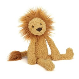 Jellycat *Lion Sauvage de Jellycat/Jellycat Wild Thing Lion, Brun/Brown, Grand/Large, 15 pouces/inches