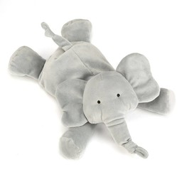 Jellycat Jellycat - Éléphant Dozydou/Dozydou Elephant, Gris/Grey, Moyen/Medium