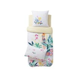 Catimini *Taie d'Oreiller de Catimini/Catimini Pillow Case, 50x75cm, Île aux Fleurs