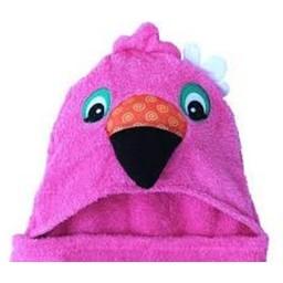 Zoocchini *Sortie de Bain Pour Enfant de Zoocchini/Zoocchini Toddler Towel, Franny le Flamant Rose/Franny the Flamingo