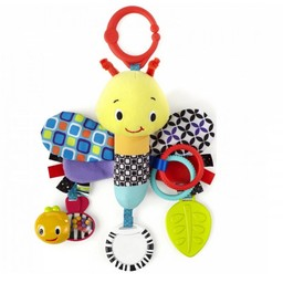 Bright Starts Jouet Sensoriel Papillon Peluche de Bright Starts/Brigth Starts Start Your Senses Sensory Plush Butterfly