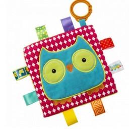 Mary Meyer Jouet d'Éveil à Frottement de Mary Meyer/Mary Meyer Crinkle Me Sensory Toy, Hibou/Owl