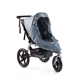BOB BOB Revolution - Housse de Protection contre le Froid et la Pluie pour Poussette Simple/Weather Shield for Revolution Single Stroller