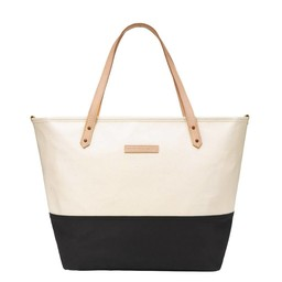 Petunia Pickle Bottom Sac à Couches Downtown Tote de Petunia Pickle Bottom/Petunia Pickle Bottom Downtown Tote Diaper Bag, Noir et Beige/Black and Beige