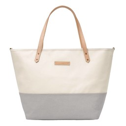 Petunia Pickle Bottom Sac à Couches Downtown Tote de Petunia Pickle Bottom/Petunia Pickle Bottom Downtown Tote Diaper Bag, Gris et Beige/Stone and Beige
