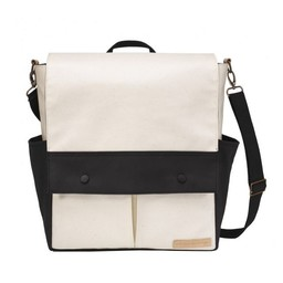 Petunia Pickle Bottom Sac à Couches Pathway Pack de Petunia Pickle Bottom/Petunia Pickle Bottom Pathway Pack Diaper Bag, Noir et Beige/Black and Beige