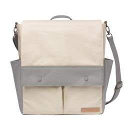 Petunia Pickle Bottom Sac à Couches Pathway Pack de Petunia Pickle Bottom/Petunia Pickle Bottom Pathway Pack Diaper Bag, Gris et Beige/Grey and Beige