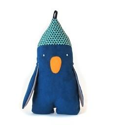Raplapla Peluche Karim le Pingouin de Raplapla/Raplapla Karim the Pinguin Plush
