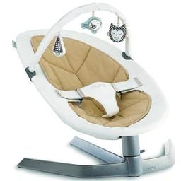 Nuna Barre de Jouets pour Balançoire Leaf de Nuna/Nuna Toy Bar for Leaf Baby Seat, Bisque