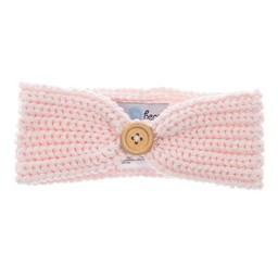 Beba Bean Bandeau en Tricot de Beba Bean/Beba Bean Knit Headband, Rose/Pink