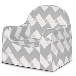 Pkolino *Fauteuil pour Enfant Little Reader de P'kolino/P'kolino Little Reader Kid Seat, Zig Zag Gris/Grey Zig Zag