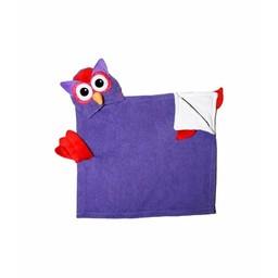 Zoocchini *Sortie de Bain pour Enfant de Zoocchini/Zoocchini Toddler Towel, Olive le Hibou/Olive the Owl
