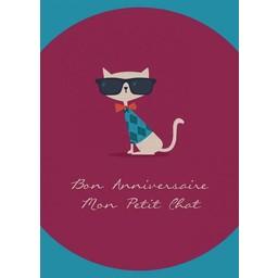 The Art File Carte de Souhaits Sans Texte Call Me Frank! de The Art File/The Art File Oli&Bella Blank Greeting Card