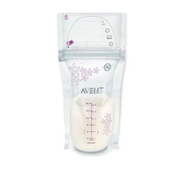 Philips Avent Philips AVENT - Sacs de Conservation du Lait Maternel/Breast Milk Storage Bags, 25 sacs/bags