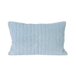*Oreiller de Velours 12x18 de Little Auggie/Little Auggie 12x18 Velvet Pillow, Jasper Bleu/Jasper Blue