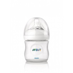 Philips Avent Biberon Naturel 4oz de Philips AVENT/Philips AVENT 4oz Natural Bottle