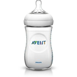 Philips Avent Biberon Naturel 9oz de Philips AVENT/Philips AVENT 9oz Natural Bottle