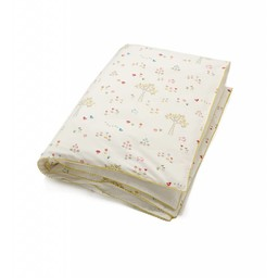 *Housse de Couette de Lit Simple de Little Auggie/Little Auggie Twin Duvet Cover, Lapin/Rabbit Patch