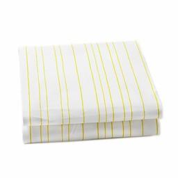*Drap Contour pour Lit Simple de Little Auggie/Little Auggie Twin Fitted Sheet, Rayures Vertes/Painted Stripe Fern