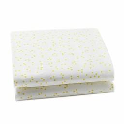 *Drap Contour pour Lit Simple de Little Auggie/Little Auggie Twin Fitted Sheet, Caillou Vert/Pebble Fern
