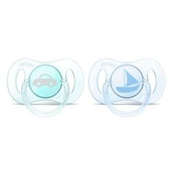 Philips Avent Mini Suces pour Nouveau-né de Philips AVENT/Philips AVENT Newborn Mini Pacifier, 0-2 mois/months, Transport