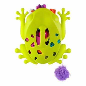 Boon Grenouille de Rangement pour le Bain de Boon/Boon Frog Pod Bath Toy Scoop, Verte/Green