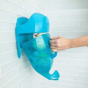 Boon Baleine de Rangement pour le Bain de Boon/Boon Whale Pod, Bleue/Blue