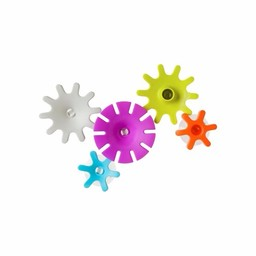 Boon Ensemble de Jeux de Construction pour le Bain Cogs de Boon/Boon Cogs Bath Toy
