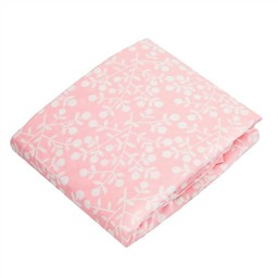 Kushies *Drap Contour pour Bassinette de Kushies Baby/Kushies Baby Fitted Crib Sheet, Baies Rose/Berries Pink