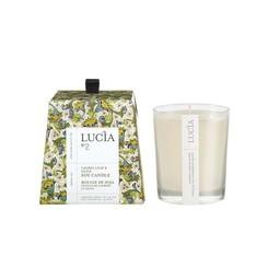 Lucia Bougie de Soja (20 h) de Lucia, Olive et Feuille de Laurier/Lucia Soja Candle (20 h), Olive and Bay Leaf