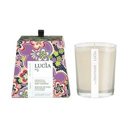 Lucia Bougie de Soja (45 h) de Lucia, Gingembre et Figue Fraîche/Lucia Soja Candle (45 h), Ginger and Fresh Fig