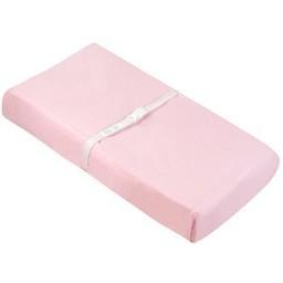 Kushies *Drap Contour de Flanelle pour Matelas à Langer de Kushies/Kushies Flannel Change Pad Fitted Sheet, Rose/Pink