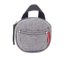 Skip Hop Étui pour Suce de Skip Hop/Skip Hop Pacifier Pocket, Gris/Grey