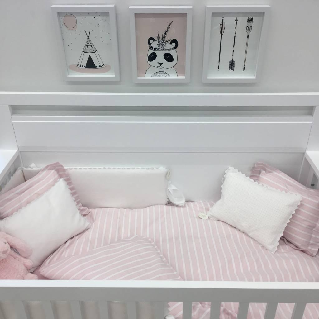 bouton jaune housse de couette lit de b b brise de mer brise de mer crib duvet cover rose. Black Bedroom Furniture Sets. Home Design Ideas