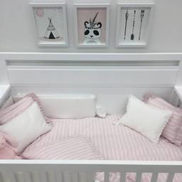 Bouton Jaune *Cache-Oreiller 10x13 Pouces, Brise de Mer de Bouton Jaune/Bouton Jaune Brise de Mer 10x13 Inches Pillow Cover, Rose et Blanc/Pink and White