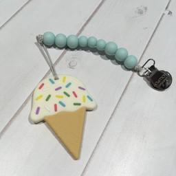 Loulou Lollipop *Jouet de Dentition Crème Glacée de Loulou Lollipop/Loulou Lollipop Ice Cream Teether, Menthe/Mint