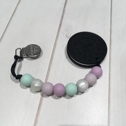 Loulou Lollipop Jouet de Dentition Biscuit de Loulou Lollipop/Loulou Lollipop Cookie Teether, Lilas et Menthe/Lilac and Mint