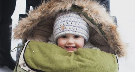 Footmuffs, snowsuits and blankets