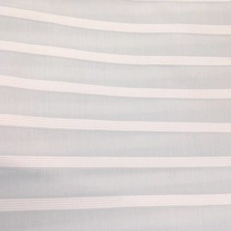 Bouton Jaune *Bouton Jaune - Jupe de Lit , Brise de Mer/Brise de Mer Classic Bedskirt, Bleu et Blanc/Blue and White
