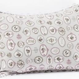 Bouton Jaune Cache-Oreiller 10x13 Pouces, Céleste de Bouton Jaune/Bouton Jaune Céleste Pillow Cover,  Aubergine CO10X13BP-194