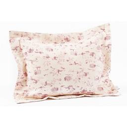 Bouton Jaune *Cache-Oreiller 10x13 Pouces, Plume de Bouton Jaune/Bouton Jaune Plume 10x13 Inches Pillow Cover, Rose/Pink