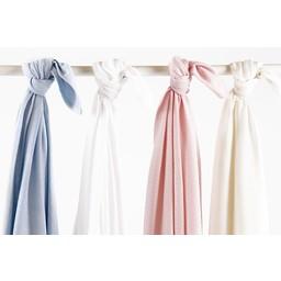 """Bouton Jaune *Couverture en Coton Organique 42po x 42po de Bouton Jaune/Bouton Jaune 42"""" x 42"""" Organic Cotton Blanket, Blanc/White"""