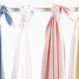 """Bouton Jaune Bouton Jaune - Couverture en Coton Organique 42po x 42po/42""""x 42"""" Organic Cotton Blanket, Rose/Pink"""