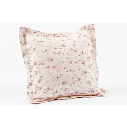 Bouton Jaune *Cache-Oreiller 14x14 Pouces, Plume de Bouton Jaune/Bouton Jaune Plume 14x14 Inches Pillow Cover, Rose/Pink