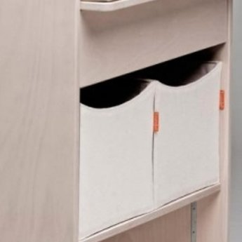 leander bo te de rangement pour table langer 2 storage box for changing station noir black. Black Bedroom Furniture Sets. Home Design Ideas