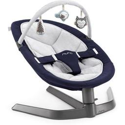 Nuna Nuna - Barre de Jouets pour Balançoire Leaf/Toy Bar for Leaf Baby Seat, Argent/Silver