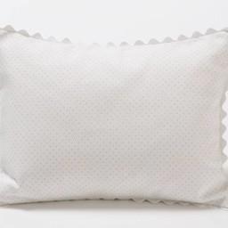 Bouton Jaune Cache-Oreiller 10x13 Pouces, Trois Petits Pois de Bouton Jaune/Bouton Jaune Trois Petits Pois 10x13 Inches Pillow Cover, Pois Rose/Pink Dots