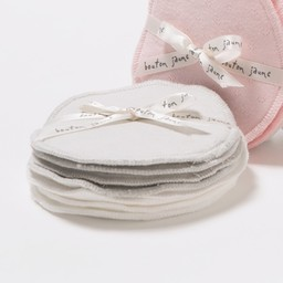 Bouton Jaune Bouton Jaune - Compresses d'Allaitement en Coton Organique/Organic Cotton Nursing Pads, Neutre-Gris/Gray-Neutral