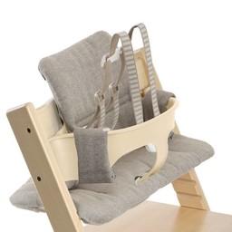 Stokke Coussin pour la Chaise Haute Stokke Tripp Trapp/Stokke Tripp Trapp Cushion, Tweed Brumeux/Hazy Tweed
